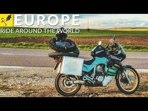 Travel the WORLD on MOTORCYCLE, EUROPE - Netherlands to Croatia!