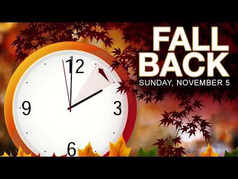 Daylight Saving Time: Fall Back