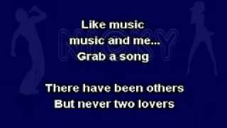 Michael Jackson - Music And Me Karaoke (On Screen Lyrics)