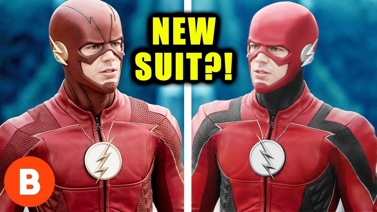 The Flash Season 6 New Suit And Leaked News