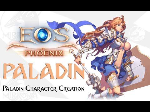 Paladin Character Creation - Echo Of Soul Phoenix