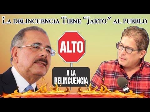 """Contundente Mensaje De Ivan Ruiz Para El Presidente Medina """"La delincuencia Tiene """"Jarto"""" al pueblo"""""""