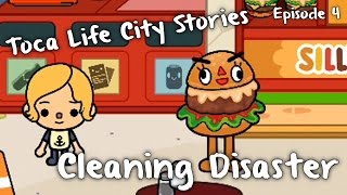 Toca Life City Stories - Cleaning Disaster (Episode 4)