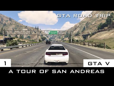 The GTA V Tourist: A Tour of San Andreas