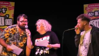 "JARRED CHRISTMAS AND ABI ROBERTS (PLUS JACK ""THE HOBBIT"" ON BEATBOX) SING CRASH TEST DUMMIES"