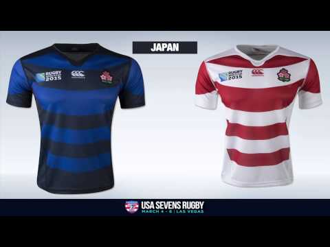2015 Rugby World Cup Jerseys Unveiled