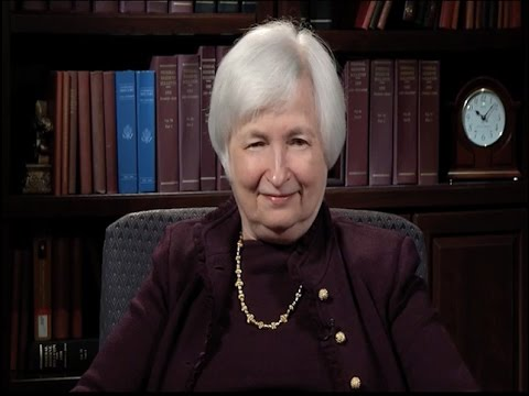 A Conversation with the Federal Reserve Chair Janet Yellen