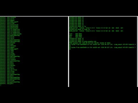 Linux system-call tracing with Xen on ARM