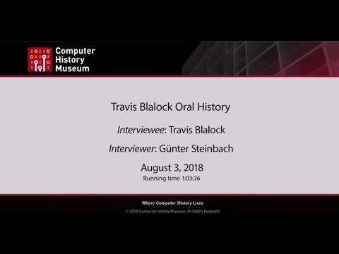 Orall History of Travis Blalock