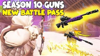 Rich Scammer Has NEW SEASON 10 GUNS!! 😱 (Scammer Gets Scammed) Fortnite Save The World