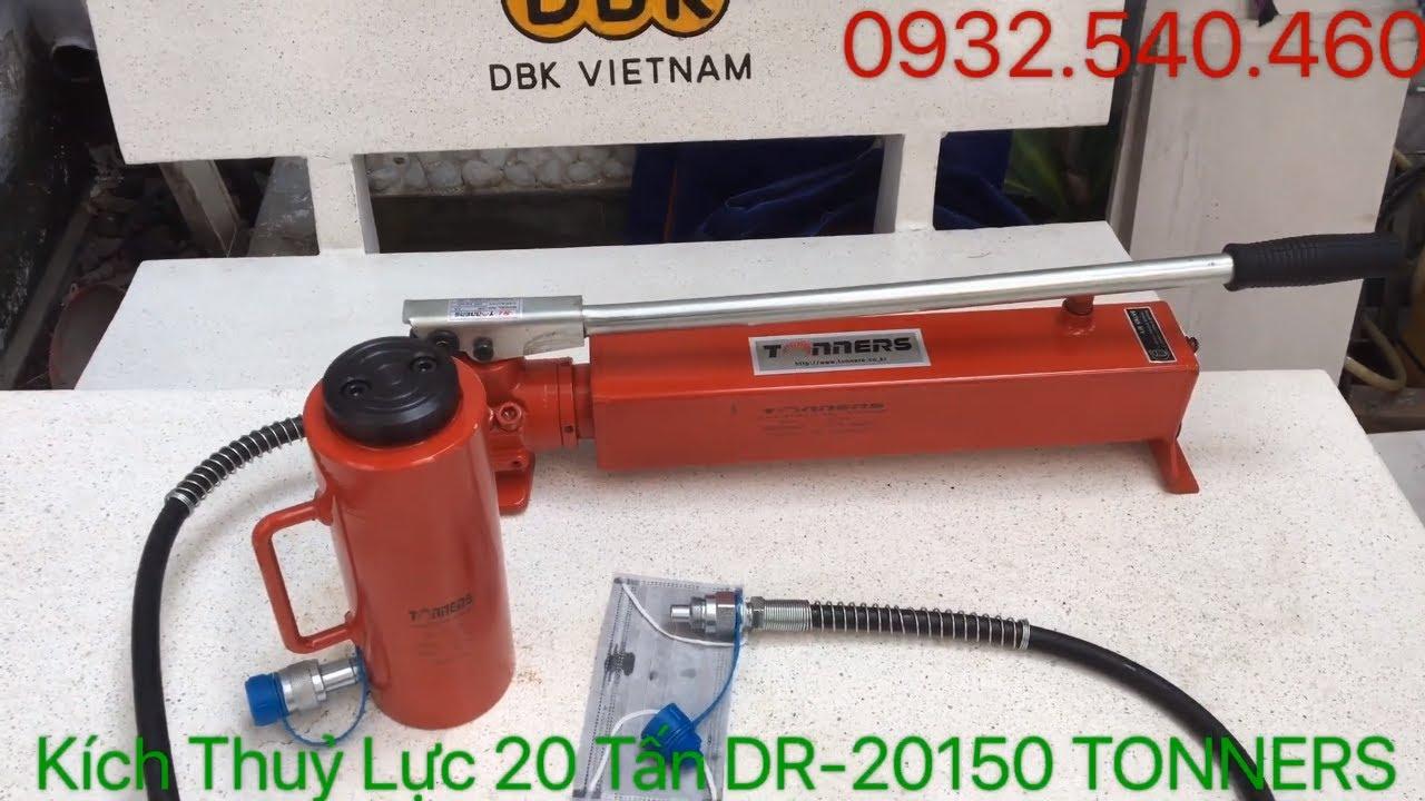 Kích Thuỷ Lực 20 Tấn Hành Trình 150mm DR-20150 TONNERS