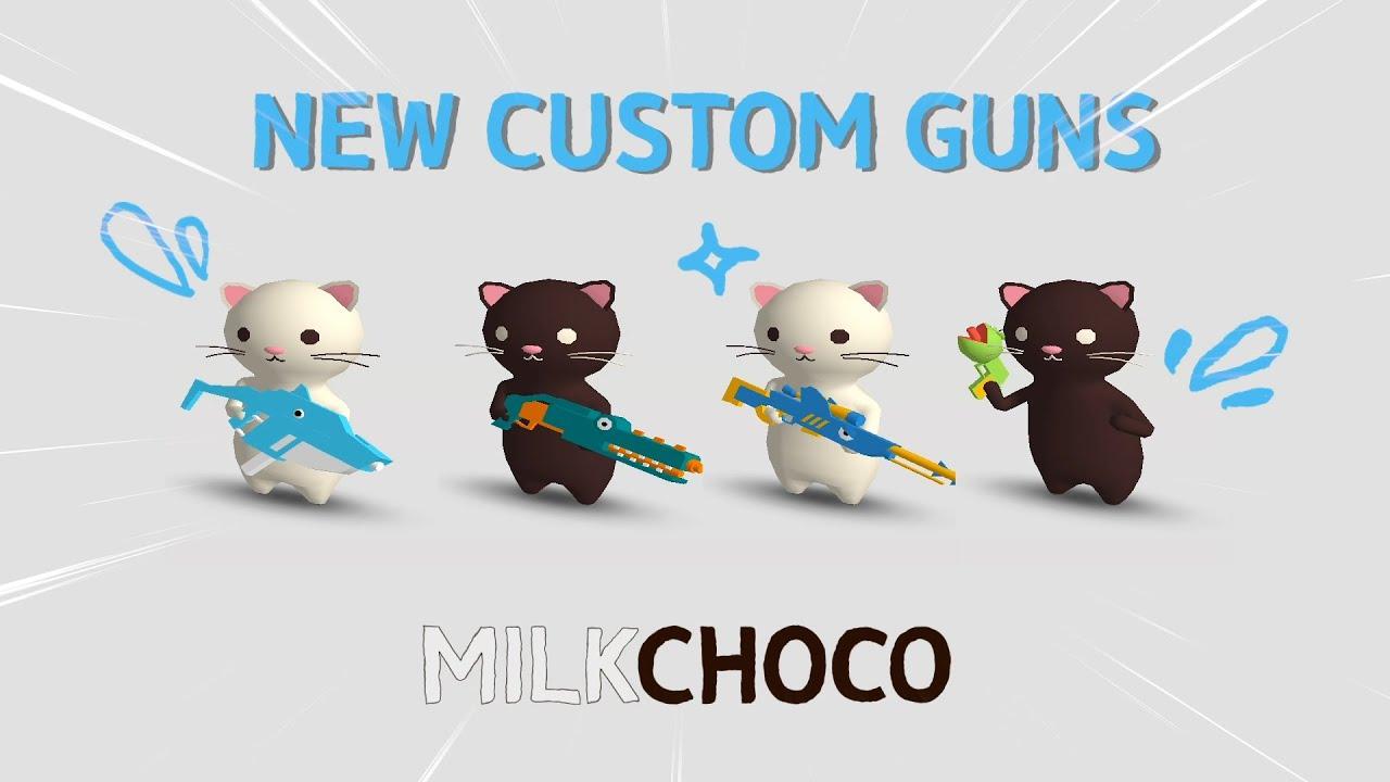 New Custom Guns🔫 for Summer! - MilkChoco