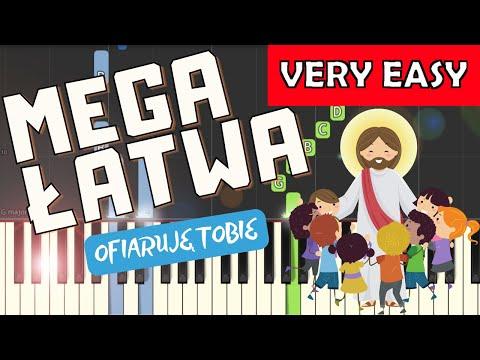 🎹 Ofiaruję Tobie - Piano Tutorial (MEGA ŁATWA wersja) 🎹
