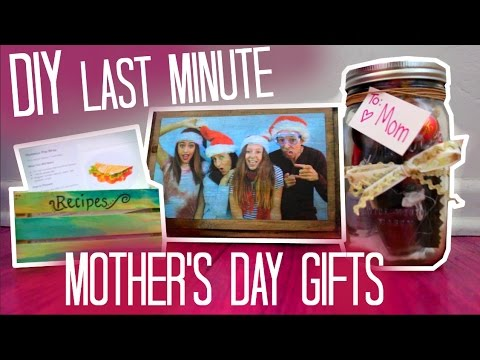 diy last minute mother 39 s day gifts maddie ryles youtube. Black Bedroom Furniture Sets. Home Design Ideas