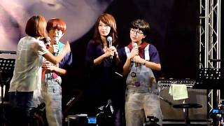 20100910 田馥甄 To Hebe台北簽唱會 06 神秘嘉賓Selina Ella Part1.MTS thumbnail