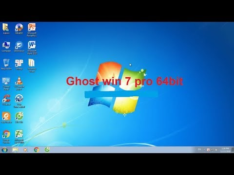 Ghost win 7 64bit và 32 bit pro full soft mới nhất 2019 – Link Google Drive