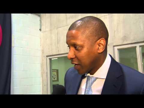 Masai Ujiri with NBA TV Canada - June 29, 2015