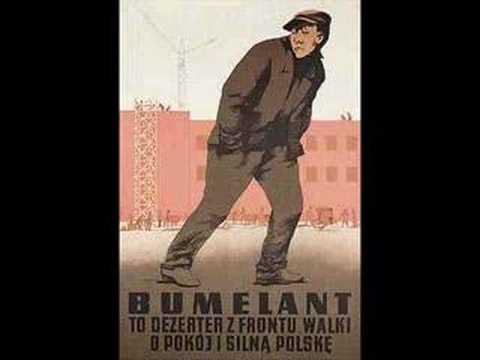 Plakat Propagandowy Prl