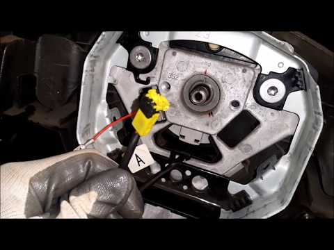 How To: SRS (Airbag) Spiral Cable Replacement DIY Guide (Nissan Note/Tiida/Versa)