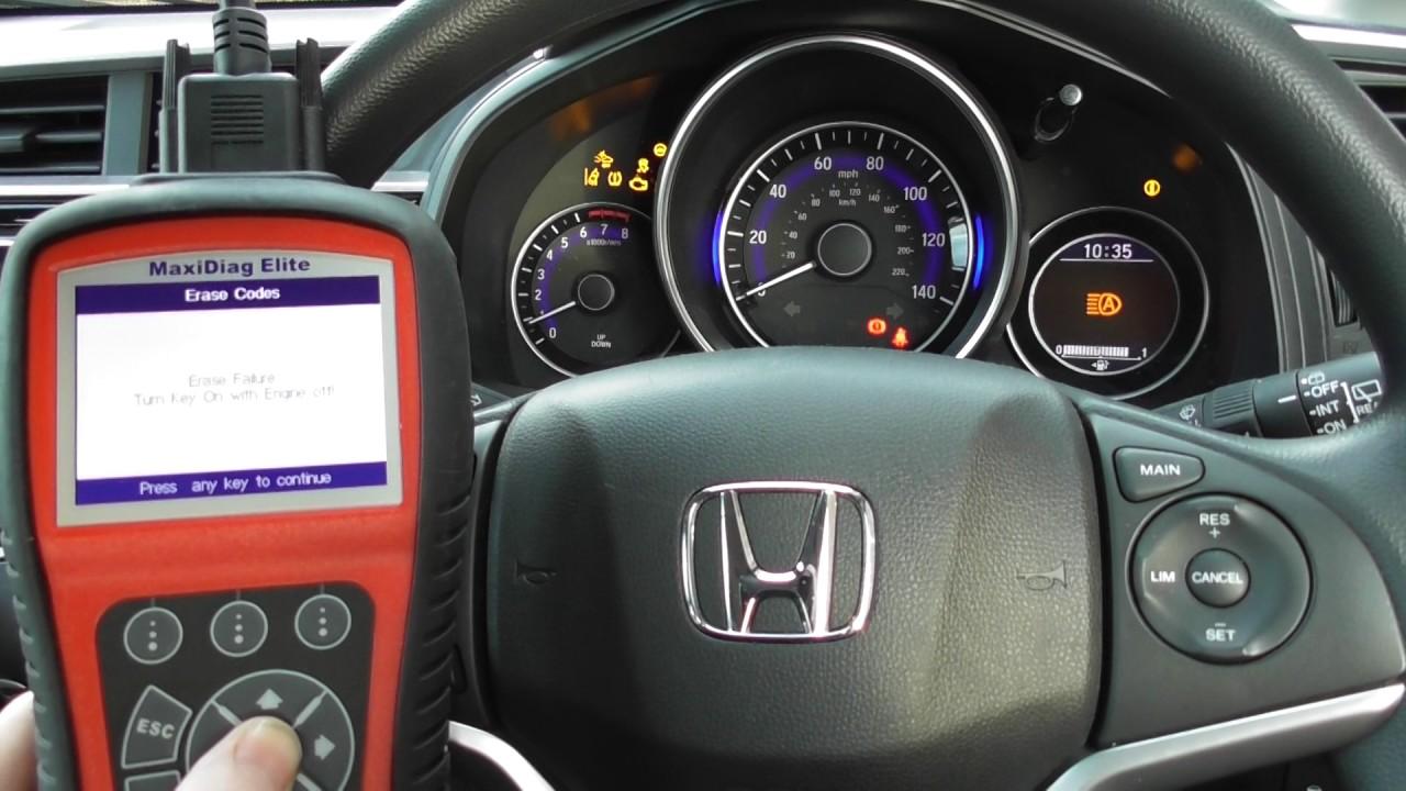 Honda P0108 Map Jazz Civic Accord Md701 Check Engine Reset Youtube 1996 Speedometer Wiring Diagram