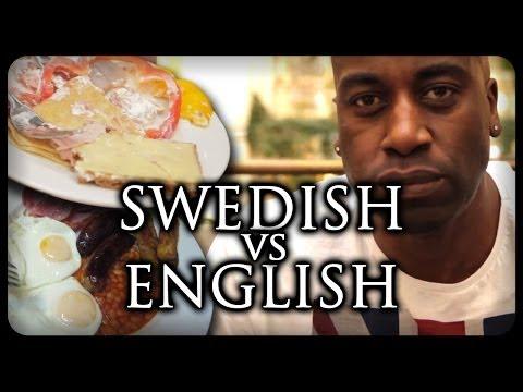 SWEDEN VS ENGLAND FOOD !