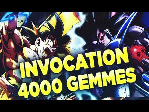 INVOCATION SPARKING 4 000 GEMMES THALES & GOKU & COOLER! | DRAGON BALL LEGENDS FR