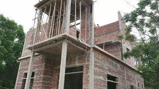 Cận cảnh ngôi nhà 2 tầng mà 2 vợ chồng già tự xây dựng - Tin Tức Mới