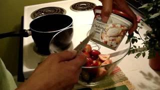 Spring-summer Fresh Fruit Salad With Orange Cream Dressing