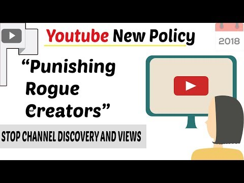 Youtube New Policy ( FEB-2018) New Punishment for Creators | NO Video Recommendation