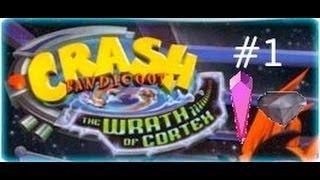 Crash Bandicoot: The Wrath Of Cortex - 106%: First Warp Room [Crystals & Gems]