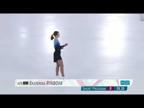 Екатерина Рябова. Произвольная программа. Зимние юношеские олимпийские игры 2020