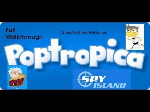 Download Poptropica Spy Island Full Walkthrough