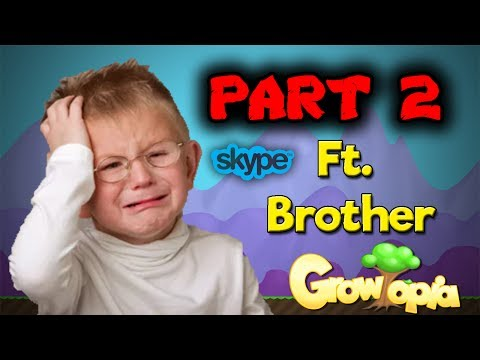 Growtopia | SCAMMING LITTLE KID PART 2 [Gone Wrong][Skype]