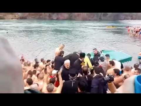 Plivanje za časni krst Podgorica 2018