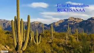 Rukhsanaa   Nature & Naturaleza