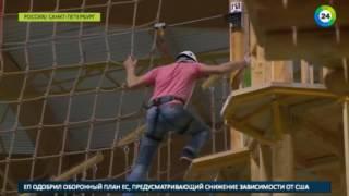Страховка подвела  в Петербурге со скалодрома сорвался подросток
