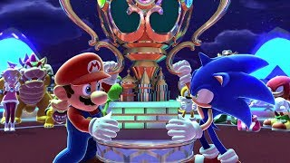 Mario & Sonic at the Sochi 2014 Olympic Winter Games - Playthrough [Part 6 - Final event & Credits]