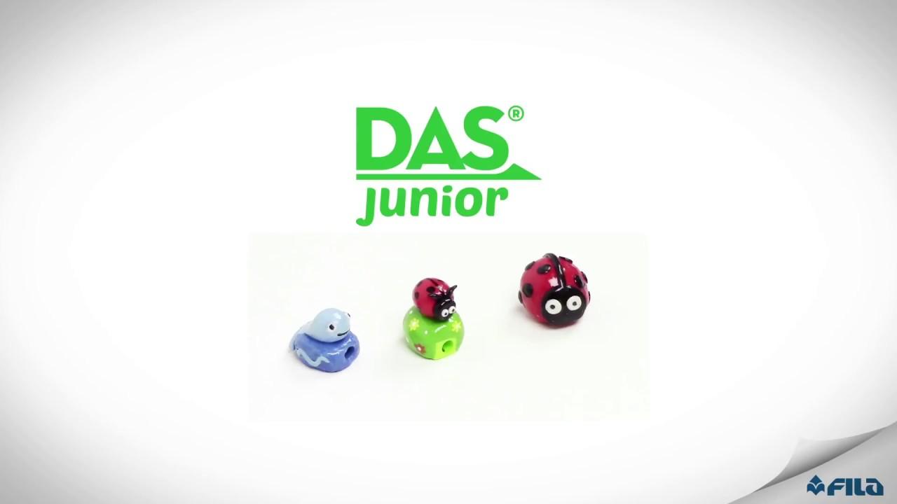 Fun Pencil Sharpener With Das Junior Diy Tutorial Youtube