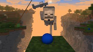 【マイクラアニメ】崖を飛び越したい【Minecraft・マインクラフトアニメ】