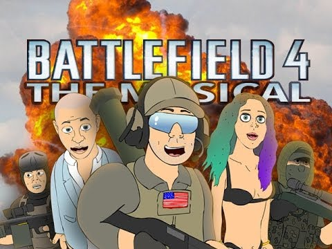 ♪ BATTLEFIELD 4 THE MUSICAL - Pitbull Timber ft. Ke$ha Parody
