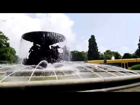 Dresden Time Lapse: Springbrunnen (Fountains)