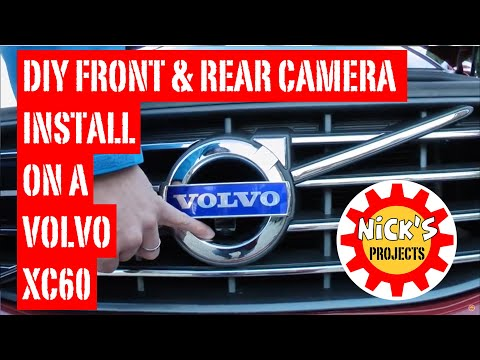 Volvo XC60 Front and Reversing Camera Install With Volvotech Kit