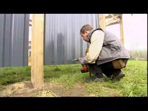Construire un carport youtube - Fabriquer un lampadaire en bois ...