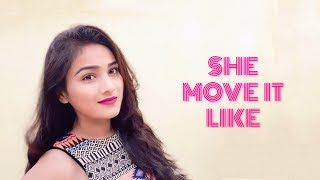She Move It Like Dance Video | Badshah | Let's Dance With Shreya