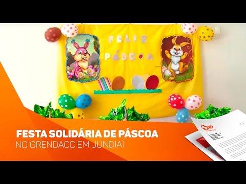 Festa solidária de Páscoa no Grendacc em Jundiaí - TV SOROCABA/SBT