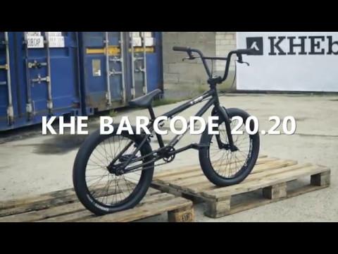KHE BARCODE 20.20 BMX Complete Bike black