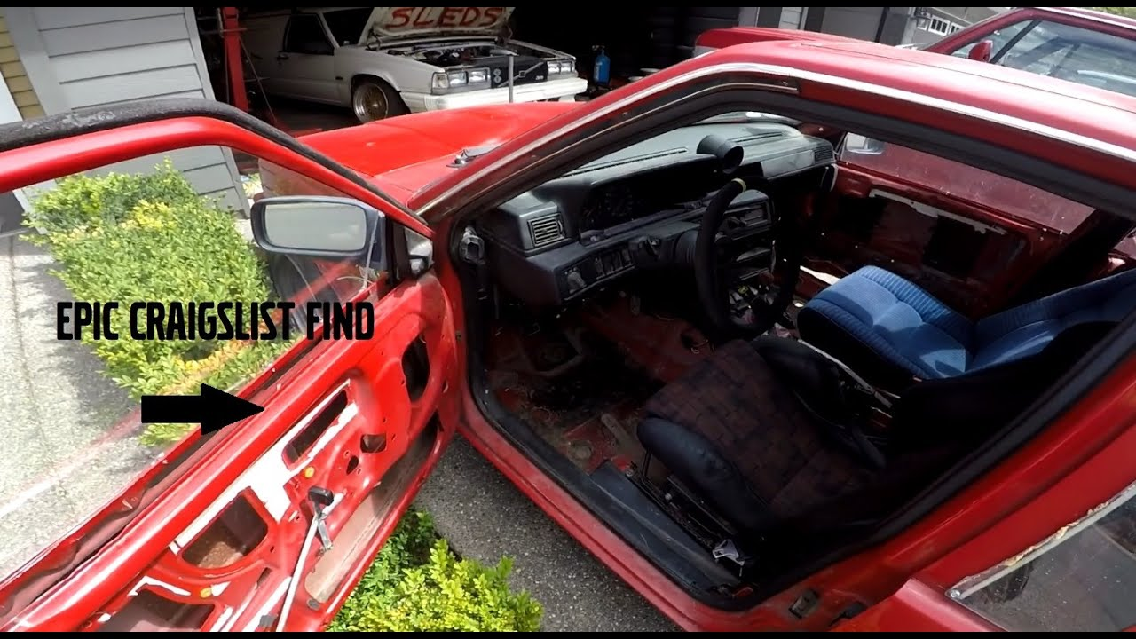 my best craigslist car part find to date - YouTube