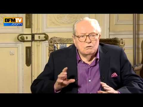 Jean-Marie Le Pen face à Ruth Elkrief (1/2)