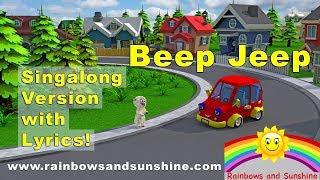 Beep Jeep Singalong Version   Rainbows and Sunshine Kids Music