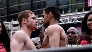 HBO Boxing News: Canelo vs. Khan Weigh-In Recap